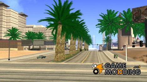 New Vegetation Ultra Real HD для GTA San Andreas