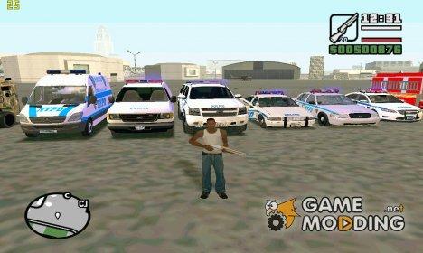 NY Pack для GTA San Andreas