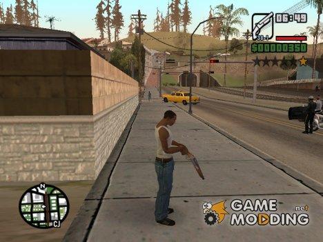 Перезарядка оружия for GTA San Andreas