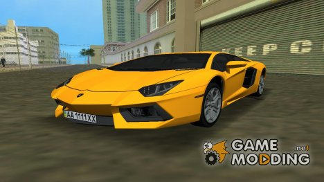 Lamborghini Aventador LP700 for GTA Vice City