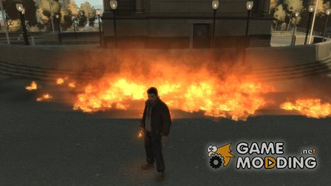 Intense Fire Mod for GTA 4