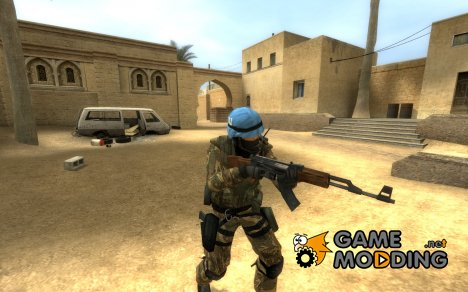 Urban Spanish Marines - Desertic Camo для Counter-Strike Source