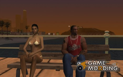 Возможность сидеть for GTA San Andreas
