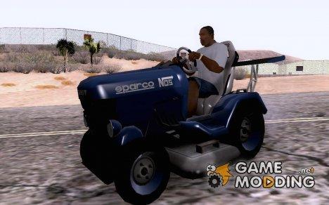 Mower TUNING for GTA San Andreas