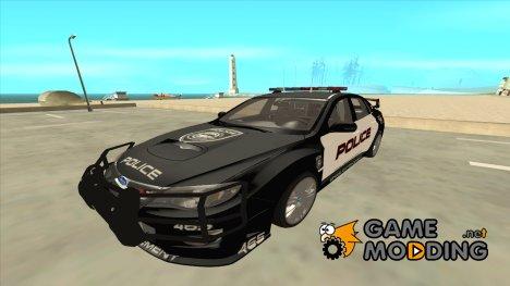 Subaru Impreza Police для GTA San Andreas