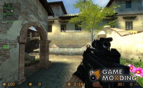 Skladfin´s  Custom G36c + M203 for Counter-Strike Source
