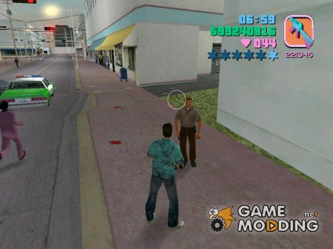 Wanted Level for GTA Vice City
