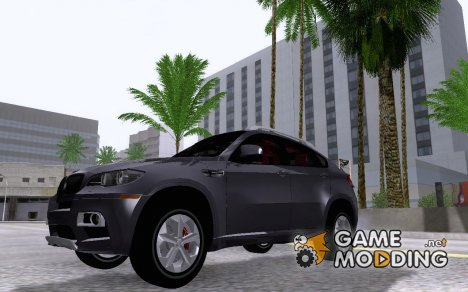 BMW X6M 2013 for GTA San Andreas