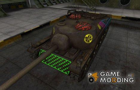 Качественные зоны пробития для T28 for World of Tanks