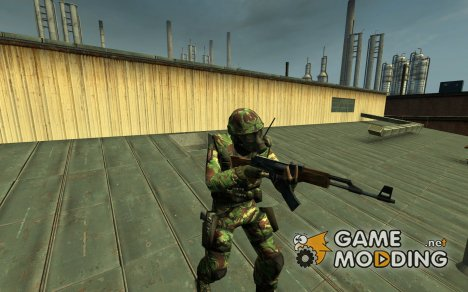 Slappy_991's British DPM Camo SAS for Counter-Strike Source
