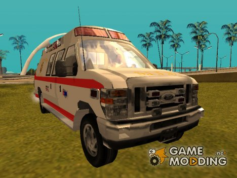 Ford E-350 San Francisco Ambulance for GTA San Andreas