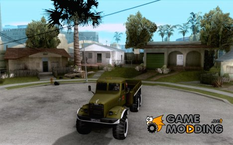 Краз 255Б Парадный for GTA San Andreas