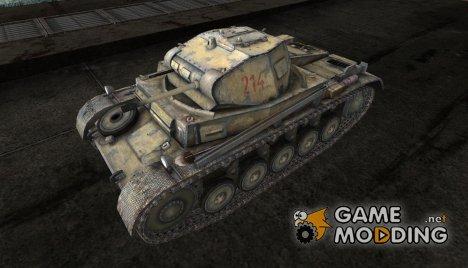 Шкурка для PzKpfw II for World of Tanks