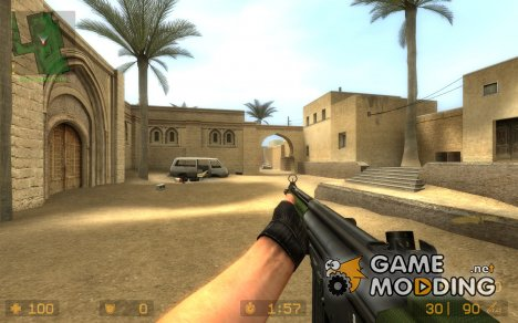 G3A3 Reskin By Battle Cat for Counter-Strike Source