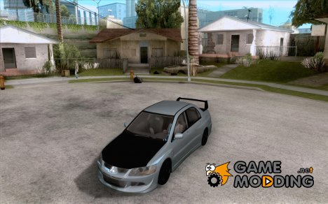 Mitsubishi Lancer Evolution IX Carbon V1.0 for GTA San Andreas