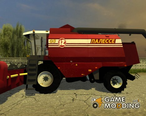 Палессе GS12 с жаткой for Farming Simulator 2013