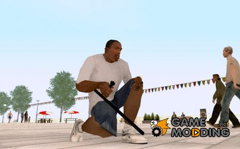Коповская дубинка для GTA San Andreas