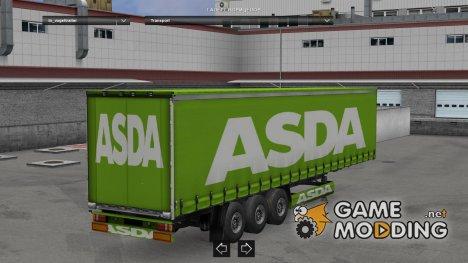 ASDA trailer for Euro Truck Simulator 2