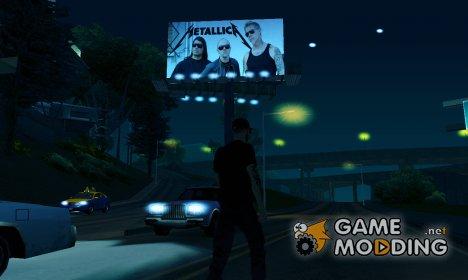 """Rock Band "" Замена билбордов for GTA San Andreas"