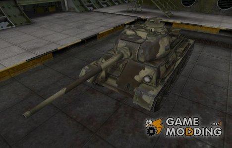Пустынный скин для Т-43 for World of Tanks