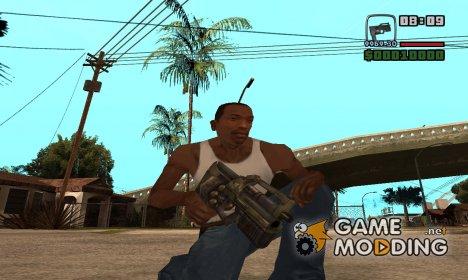Инопланетный MP5 для GTA San Andreas