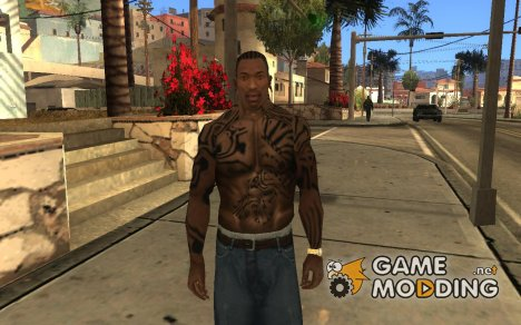 Biomechanic-Tattoo для GTA San Andreas
