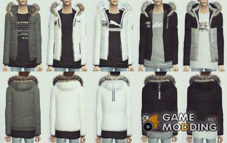 Куртка для Sims 4