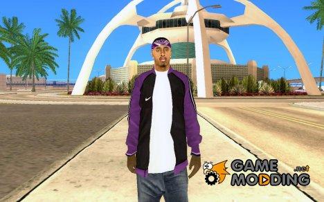 Новый скин банды for GTA San Andreas