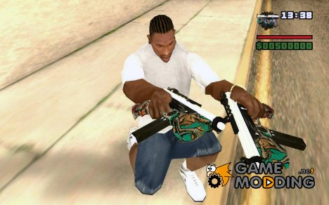 Замена Микро Узи for GTA San Andreas