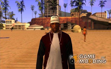 Кепка boss white для GTA San Andreas