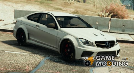 Mercedes-Benz C63 AMG Black Series v1.1 для GTA 5