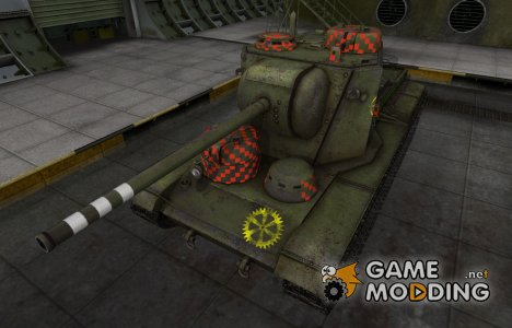 Качественные зоны пробития для КВ-5 для World of Tanks