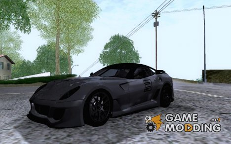 Ferrari 599xx for GTA San Andreas