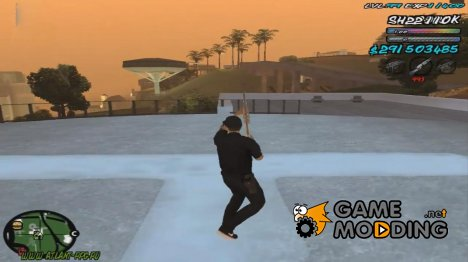 C-HUD by _ShnoorOK_ for GTA San Andreas