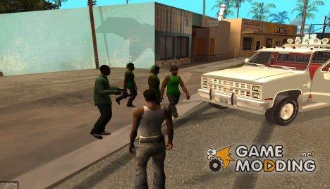 Pack for samp для GTA San Andreas