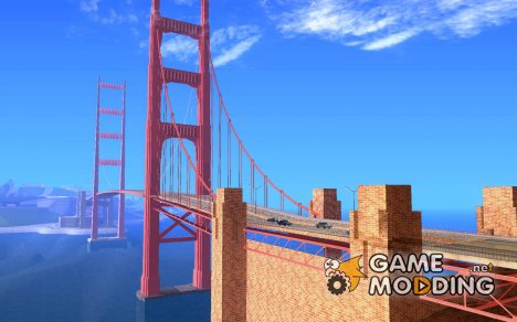 New Golden Gate bridge SF v1.0 for GTA San Andreas