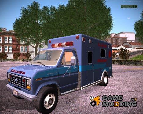 Ford E-350 Ambulance 1982 для GTA San Andreas