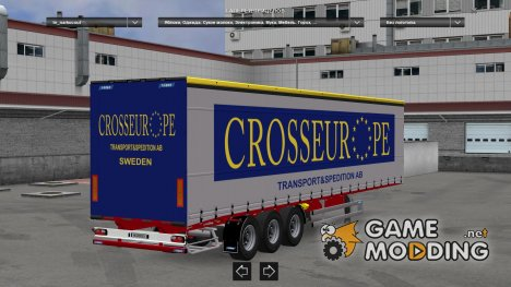 Narko Curtainsider Pack for Euro Truck Simulator 2