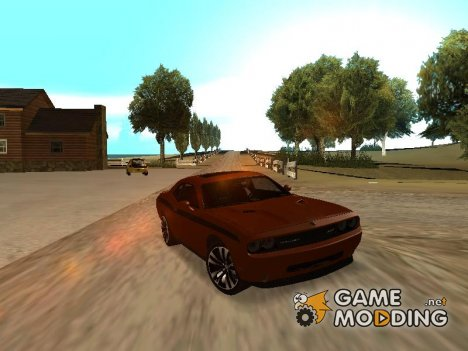 Dodge Challenger Yellow Jacket для GTA San Andreas