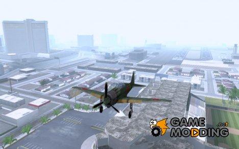 Японский самолёт из игры в тылу врага 2 для GTA San Andreas
