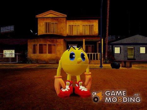 Pac-Man v1.0 для GTA San Andreas