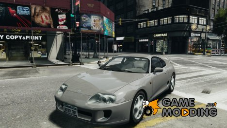 Toyota Supra MKIV 1995 v2.0 Final for GTA 4