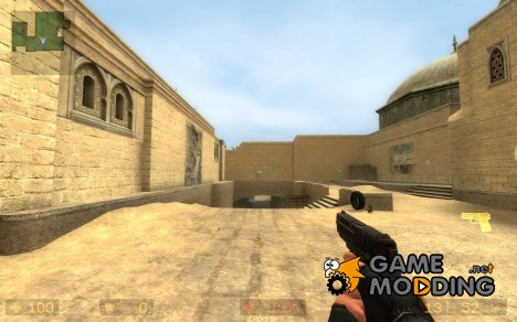 Default p228 retextured for Counter-Strike Source