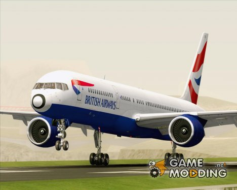 Boeing 757-200 British Airways for GTA San Andreas