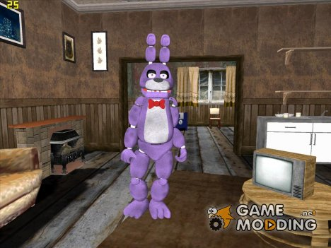 Bonnie из Five Nights Att Freddy's для GTA San Andreas