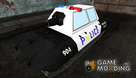 Шкурка для E-100 POLICE! для World of Tanks