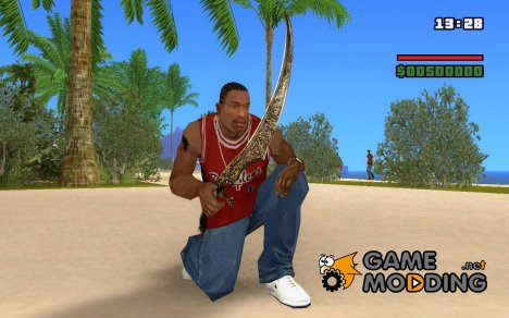 Меч из Persia: Warrior Within для GTA San Andreas