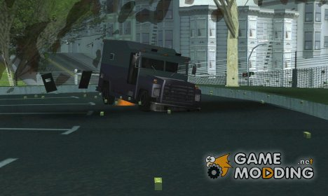 GTA IV Securecar money drop для GTA San Andreas