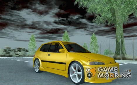 Honda Civic SiR II Tuned для GTA San Andreas
