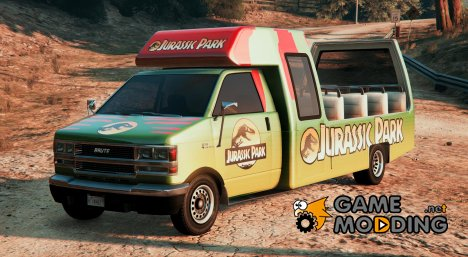 Jurassic Park Tour Bus V1.1 for GTA 5